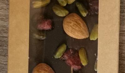 TABLETTE CHOCOLAT NOIR AMANDES GRENIER
