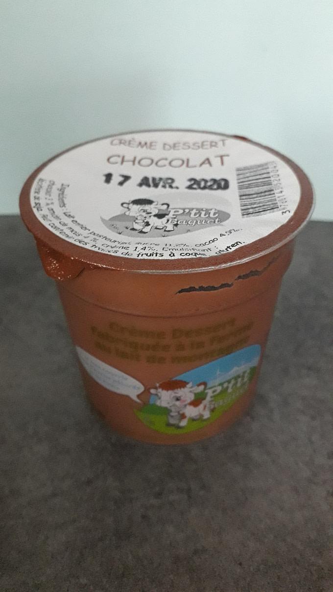 🆕 Crème Dessert Fermière Chocolat 4 X 130G 1