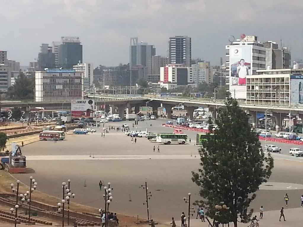 Etiopía-addis-abeba-meskel-square