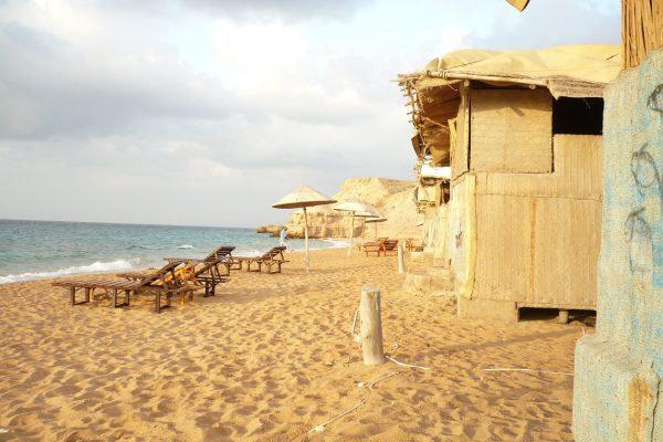 Campamento marítimo Obock Djibouti