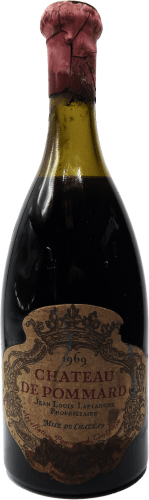 chateau-de-pommard-1969-label-stained-low level