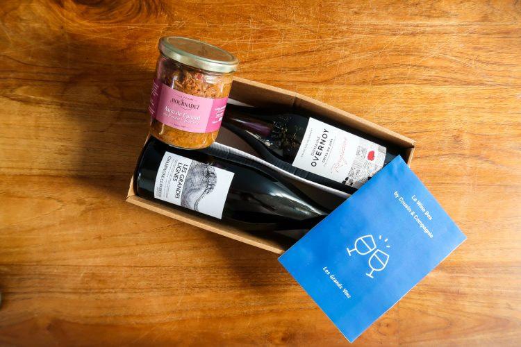 Les Grands Vins - Box Mets et Vins