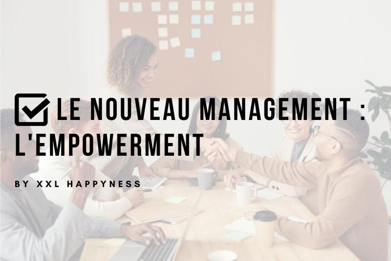 XXL Happyness nouveau management