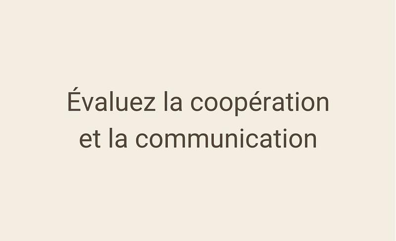 Évaluez la coopération et la communication au sein de votre entreprise grâce au baromètre QVT